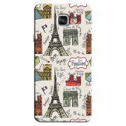 Capa Personalizada Exclusiva Samsung Galaxy A7 2016 SM-A710 Cidade França - CD25