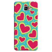 Capa Personalizada Exclusiva Samsung Galaxy A7 2016 SM-A710 Love Corações - LV14