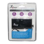 Adaptador HUB USB e Extensor de Acendedor de Cigarro Veicular Kanup KP-524