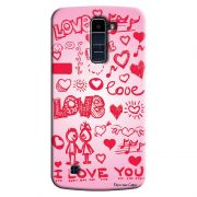 Capa Personalizada Exclusiva LG K10 TV K430DSF Love - LV04