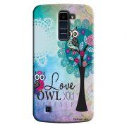 Capa Personalizada Exclusiva LG K10 TV K430DSF Love Corujas - LV17