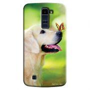 Capa Personalizada Exclusiva LG K10 TV K430DSF Pets Cachorro - PE33