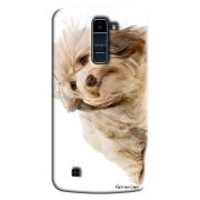 Capa Personalizada Exclusiva LG K10 TV K430DSF Pets Cachorro - PE46