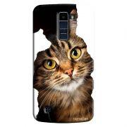 Capa Personalizada Exclusiva LG K10 TV K430DSF Pets Gatos - PE52
