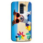 Capa Personalizada Exclusiva LG K10 TV K430DSF Pets Cachorro - PE61