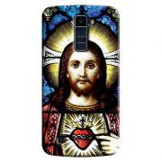 Capa Personalizada Exclusiva LG K10 TV K430DSF Religiosa Jesus - RE02
