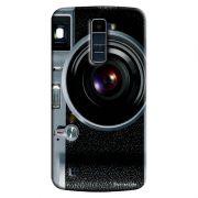 Capa Personalizada Exclusiva LG K10 TV K430DSF Textura Câmera Fotográfica - TX51