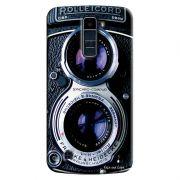 Capa Personalizada Exclusiva LG K10 TV K430DSF Textura Câmera Fotográfica - TX56
