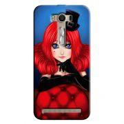 Capa Personalizada Exclusiva Asus Zenfone 2 Laser ZE550KL Designer Moulin Rouge - DE05