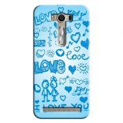 Capa Personalizada Exclusiva Asus Zenfone 2 Laser ZE550KL Love - LV03