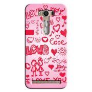 Capa Personalizada Exclusiva Asus Zenfone 2 Laser ZE550KL Love - LV04