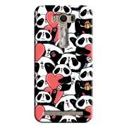 Capa Personalizada Exclusiva Asus Zenfone 2 Laser ZE550KL Love Panda - LV21