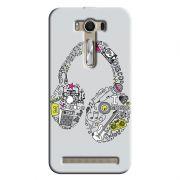 Capa Personalizada Exclusiva Asus Zenfone 2 Laser ZE550KL Music Fone - MU01