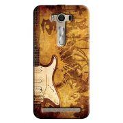 Capa Personalizada Exclusiva Asus Zenfone 2 Laser ZE550KL Music Guitarra - MU12