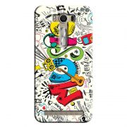 Capa Personalizada Exclusiva Asus Zenfone 2 Laser ZE550KL Music - MU15