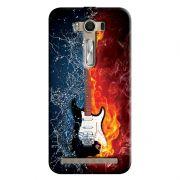 Capa Personalizada Exclusiva Asus Zenfone 2 Laser ZE550KL Music Guitarra - MU23