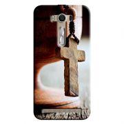 Capa Personalizada Exclusiva Asus Zenfone 2 Laser ZE550KL Religiosas Cálice - RE03