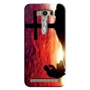 Capa Personalizada Exclusiva Asus Zenfone 2 Laser ZE550KL Religiosas - RE12