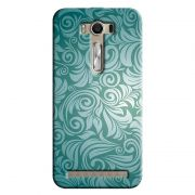 Capa Personalizada Exclusiva Asus Zenfone 2 Laser ZE550KL Textura Flores - TX58