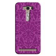 Capa Personalizada Exclusiva Asus Zenfone 2 Laser ZE550KL Textura Flores - TX61
