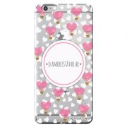 Capa Transparente Personalizada Exclusiva Apple Iphone 6/6s Frases - TP146