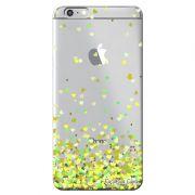 Capa Transparente Personalizada Exclusiva Apple Iphone 6/6s Corações - TP171