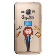 Capa Transparente Personalizada Exclusiva Samsung Galaxy J1 2016 Arquiteta - TP204