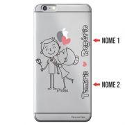 Capa Personalizada com Nome para Apple Iphone 6 6S Plus - NM03
