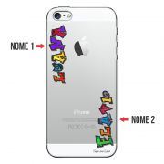Capa Personalizada com Nome para Apple Iphone 5 5S SE - NM05