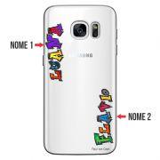 Capa Personalizada com Nome para Samsung Galaxy S7 Edge SM-G935 - NM05