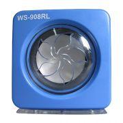 Caixa De Som Mini Com Lcd Pendrive Radio Fm e Cartao MicroSD Azul