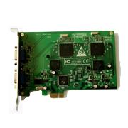 Placa Captura 16 canais 480x480fps tempo real H.264  Original PCI Express - JS Soluções em Segurança