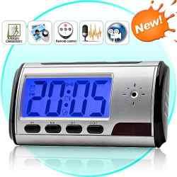 Baba Espiã Relógio + Despertador + Câmera Espiã 8GB incluso - JS Soluções em Segurança