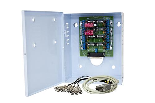RACK DVR STAND ALONE 8V8A E FONTE 10 AMPERES (S/CABO) Cod: 1124 - JS Soluções em Segurança