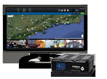 Gravador digital de vídeo híbrido 5 Canais Intelbras veicular 720p MVD 1105 WIFI - JS Soluções em Segurança