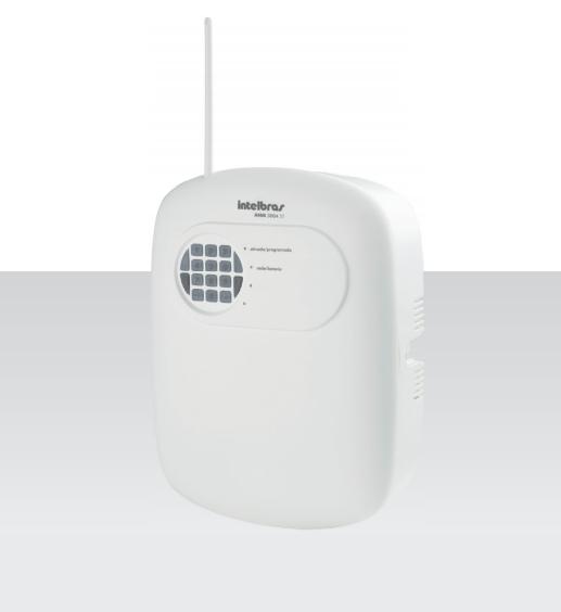 Central de Alarme intelbras 4 setores discadora para 5 números + 1 controle 433,92 MHz ANM 3004 ST - JS Soluções em Segurança
