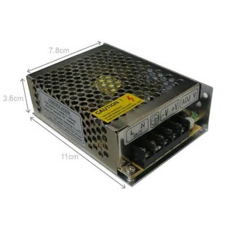 FONTE 12V 5A - JS Soluções em Segurança