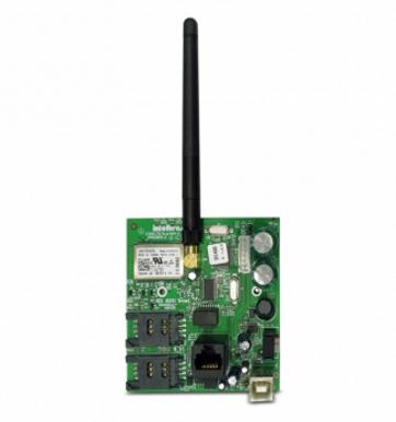 Módulo Ethernet rede + GPRS 2 sim card quad band XEG 4000 SMART - JS Soluções em Segurança