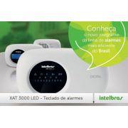 Teclado LED para centrais de alarme não monitotoradas e monitoradas XAT 3000 LED linhas 2004MF e 2008MF Intelbras - JS Soluções em Segurança