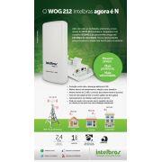 Antena Radio Roteador wireless Outdoor Station 2 - 12 dBi 2.4 ghz Intelbras WOG 212 - JS Soluções em Segurança