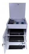 RACK HÍBRIDO House DVR 32 CANAIS 3G + 2 CABOS 16 VIDEOS  SEM FONTE - JS Soluções em Segurança