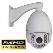 IP Speed dome infra 2.0 Megapixels 30X óptico IR CUT Onvif 2.0 + Fonte 12V IP66 1920x Full HD 1080p