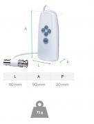 Controle de Comando Por Fio VHD Control p/ Câmeras Multi HD Intelbras