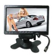 Monitor LCD Color 7 polegadas alta resolução 2 entradas video rca sem fonte  AHD-M 1280*720p  - JS Soluções em Segurança