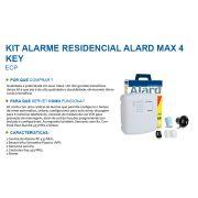 Kit Central Alarme discagem para 6 números sem fio Alard Max 4 ECP - JS Soluções em Segurança