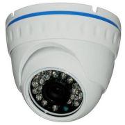 AHD-M Câmera Dome Infra vermelho 1.0 Megapixel 24 leds 30mt IP66 3.6mm metal externa