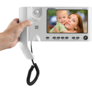 Kit Video Porteiro com monofone Intelbras IV 7010 HS