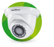 Câmera Infra Full HD IP Dome 3 Megapixels 1/3 2.8mm 20mts Intelbras VIP S4320 G2