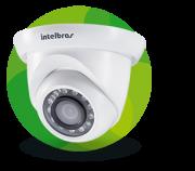 Câmera Infra Full HD IP Dome 3 Megapixels 1/3 2.8mm 20mts Intelbras VIP S 4320 G2