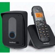 Kit Porteiro e Base linha telefônica sem fio + ramal externo Intelbras TIS 5010